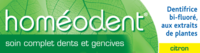 Boiron Homéodent Soin Complet Dents Et Gencives Pâte Dentifrice Citron 2t/75ml à Seysses