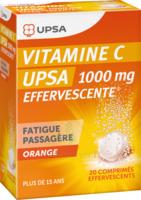 Vitamine C Upsa Effervescente 1000 Mg, Comprimé Effervescent à Seysses