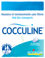 Boiron Cocculine Comprimés Orodispersibles B/40 à Seysses